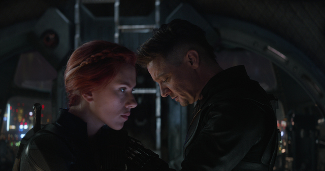 avengers endgame review - black widow and hawkeye