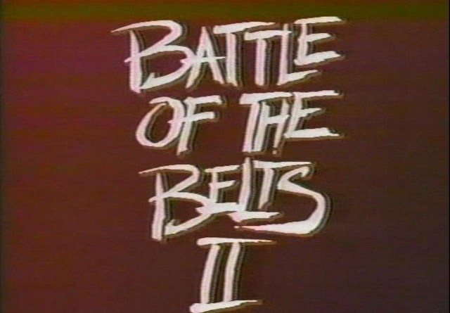 battle of the belts 2