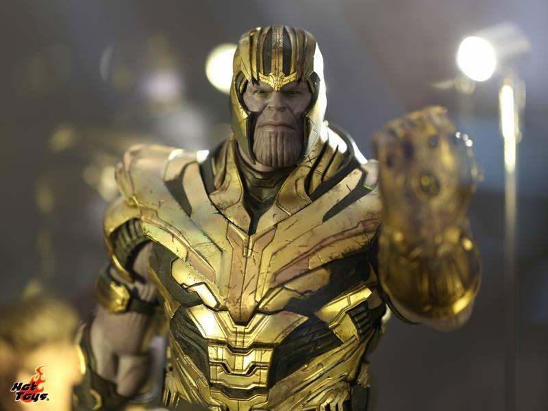 hot toys avengers endgame exhibit thanos