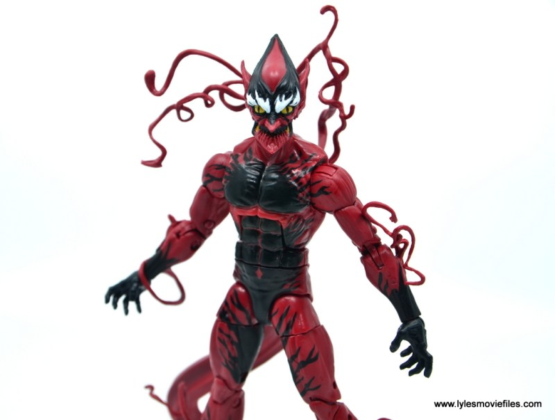 marvel legends red goblin figure review - wide shot