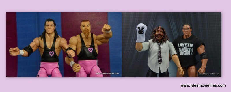 the hart foundation vs the rock n sock connection