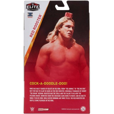 wwe elite red rooster figure package rear