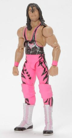 wwe ultimate edition bret hart figure - alternate head