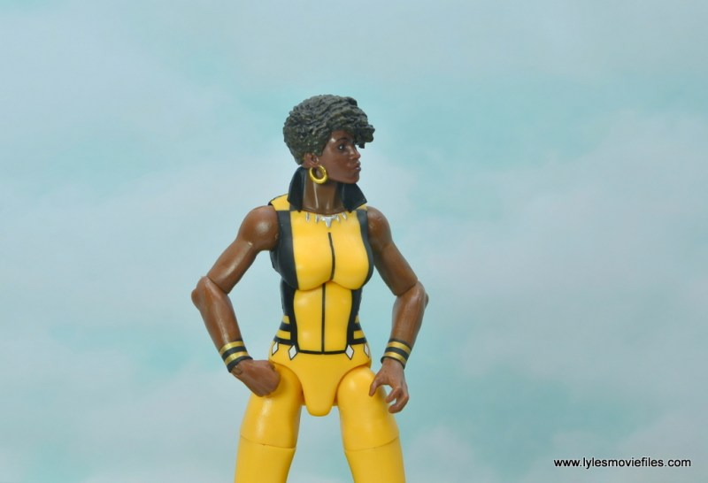 DC Multiverse Vixen figure review - looking to the side