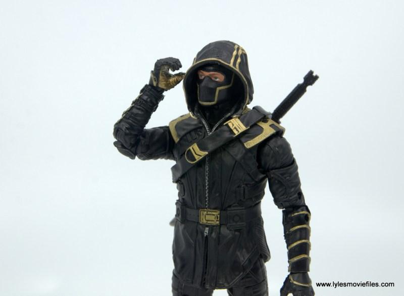 Marvel Legends Ronin figure review - lifting hood