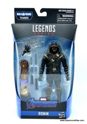 Marvel Legends Ronin figure review - package front