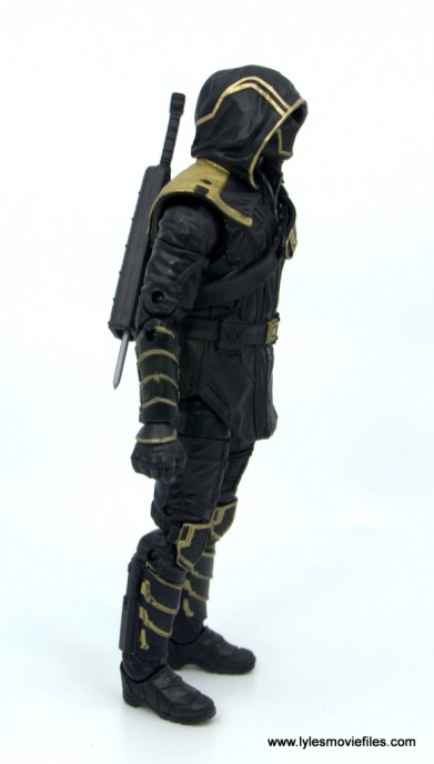 Marvel Legends Ronin figure review - right side