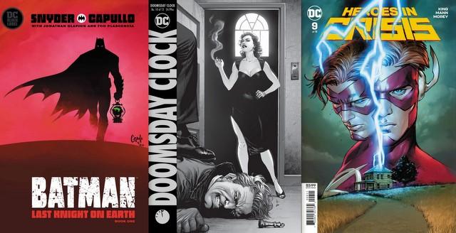 dc comics reviews 5/29/19
