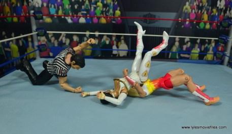 WWE Alundra Blayze figure review - belly to back suplex