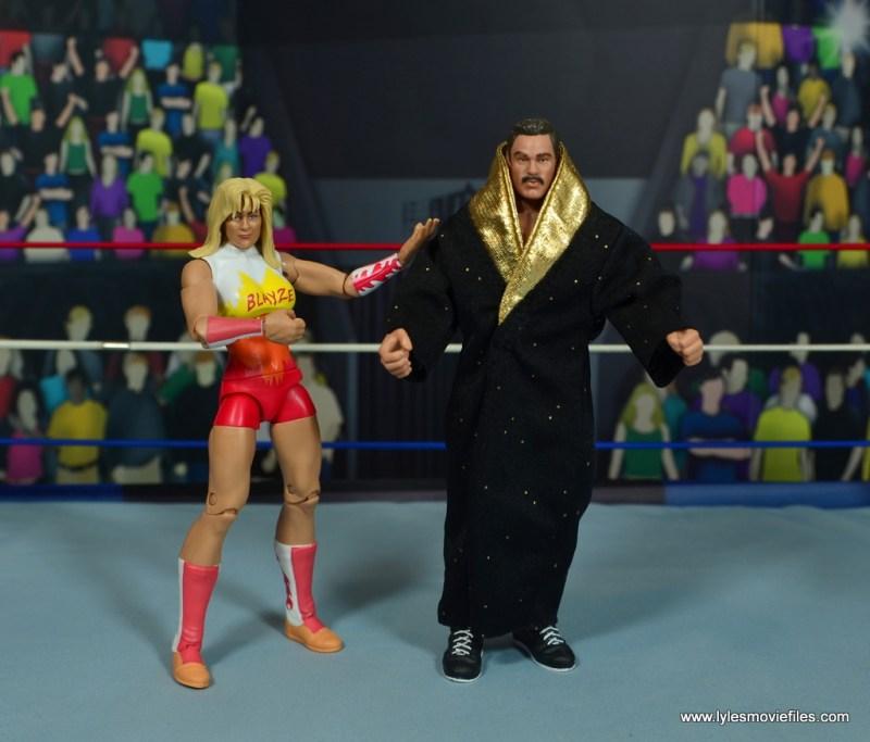 WWE Alundra Blayze figure review - with ravishing rick rude