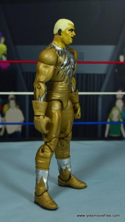 WWE Goldust figure review -right side