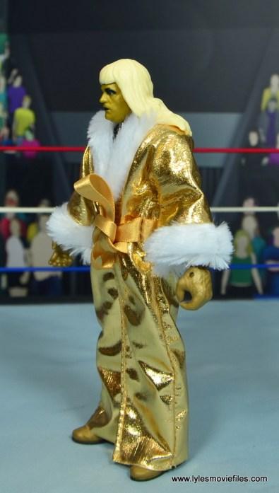 WWE Goldust figure review - robe left side