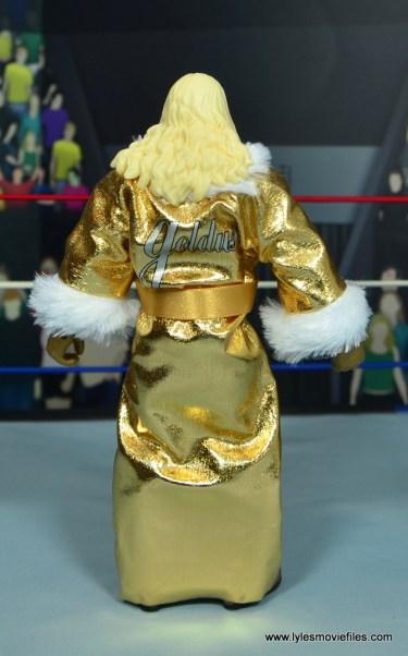 WWE Goldust figure review -robe rear