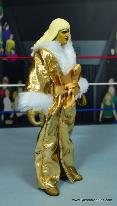 WWE Goldust figure review - robe right side