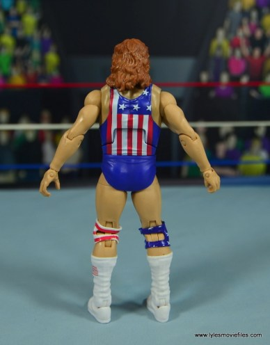 WWE Retrofest Hacksaw Jim Duggan figure review - rear