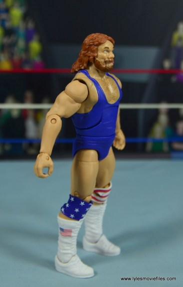 WWE Retrofest Hacksaw Jim Duggan figure review - right side