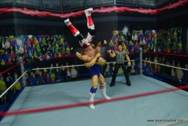 WWE Retrofest Hacksaw Jim Duggan figure review - suplex to shawn michaels