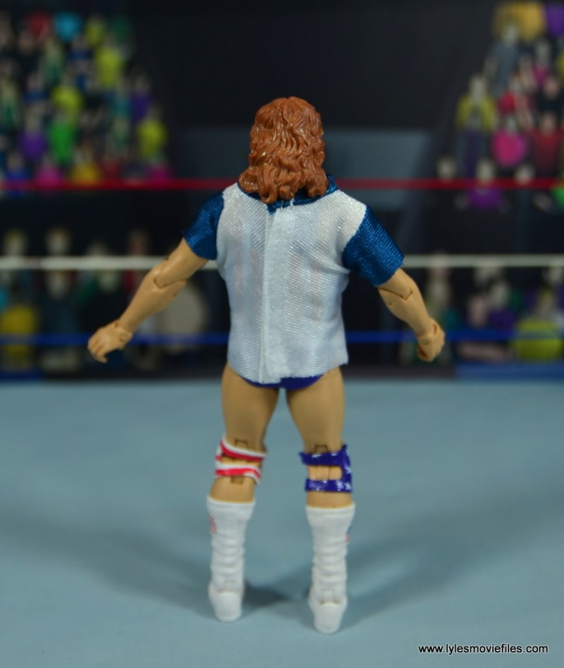 WWE Retrofest Hacksaw Jim Duggan figure review - t-shirt rear