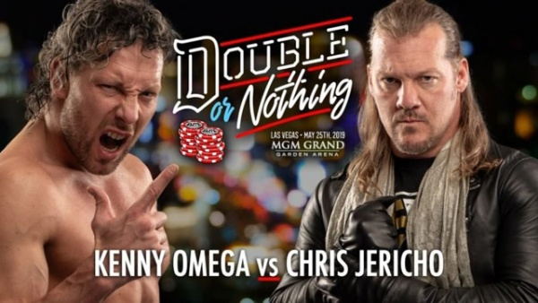 aew double or nothing - kenny omega vs chris jericho
