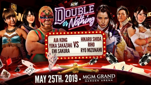 aew double or nothing - six woman match