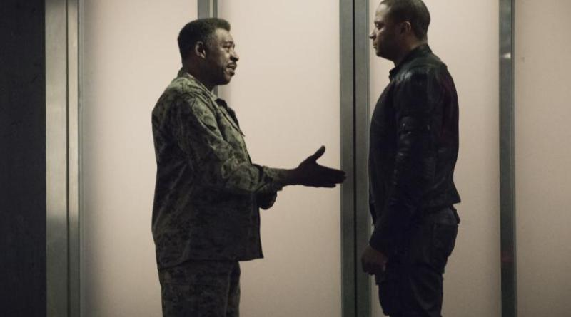 arrow spartan review - gen. stewart and diggle