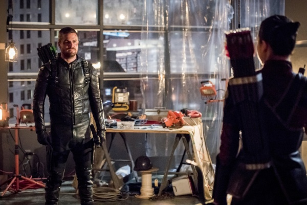 arrow you have saved this city review - oliver and emiko