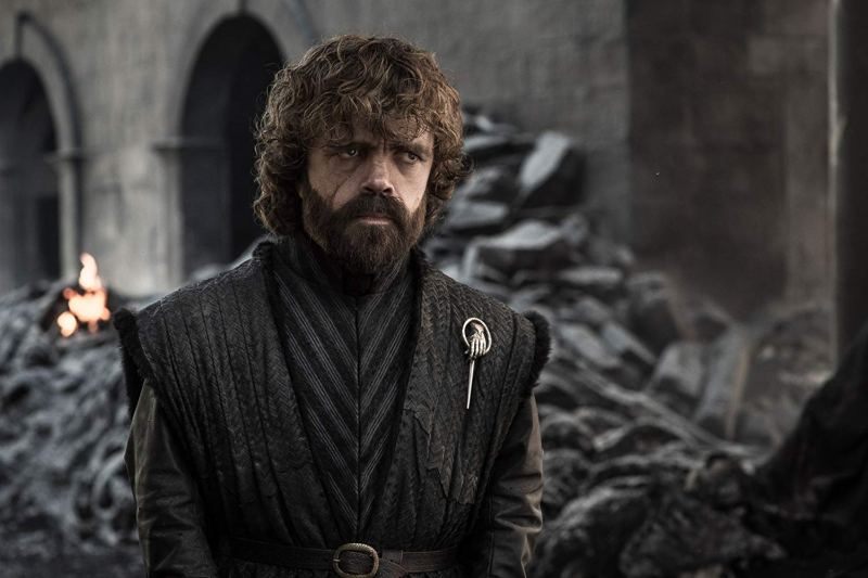 game of thrones - the iron throne review - tyrion