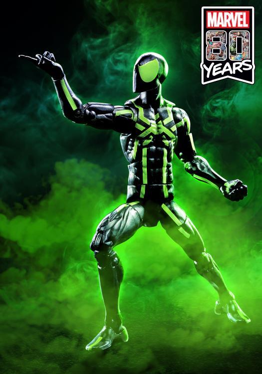 marvel legends big time spider-man full