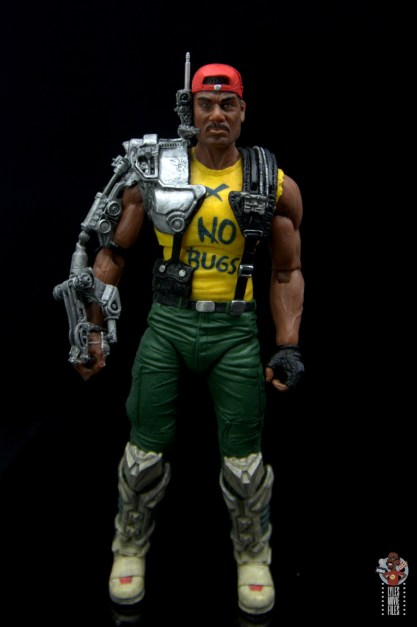 neca aliens sgt apone figure review - front