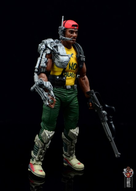 neca aliens sgt apone figure review - right side