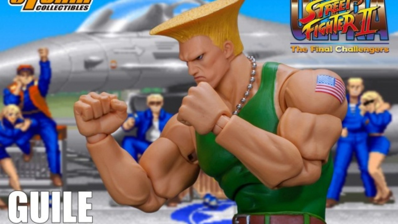 Pre Order The Storm Collectibles Street Fighter Ii Guile Figure