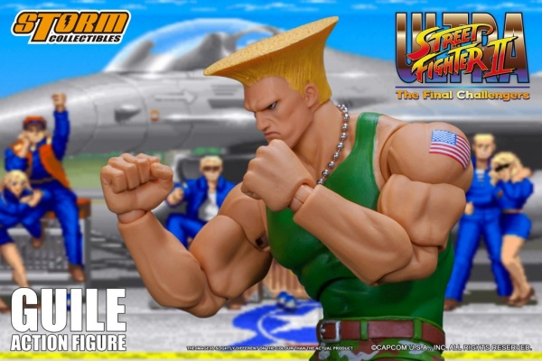 storm collectibles street fighter ii guile figure - main pic