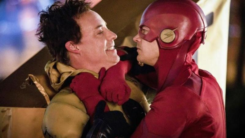 the flash legacy review - thawne and flash