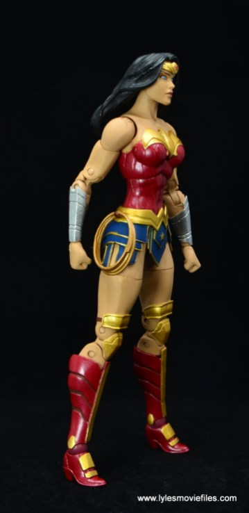 DC Essentials Wonder Woman figure review - right side