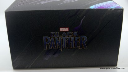 Hot Toys Black Panther figure review - package top