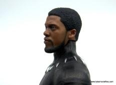 Hot Toys Black Panther figure review - unmasked head left side