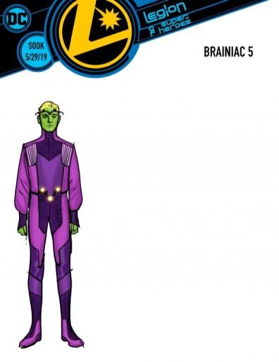 legion of superheroes brainiac 5