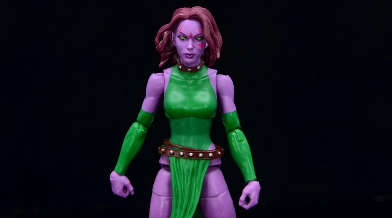 Marvel Legends Blink figure review - main pic