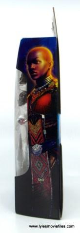 Marvel Legends Dora Milaje figure review - package side