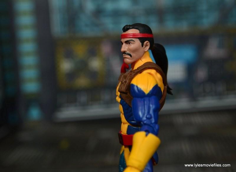 Marvel Legends Forge figure review - close up side