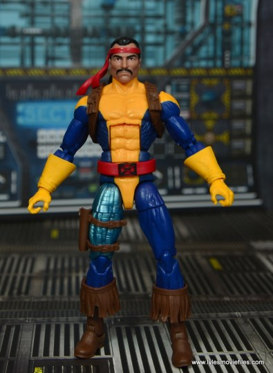Marvel Legends Forge figure review - front