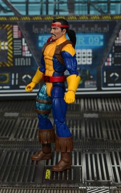 Marvel Legends Forge figure review - left side