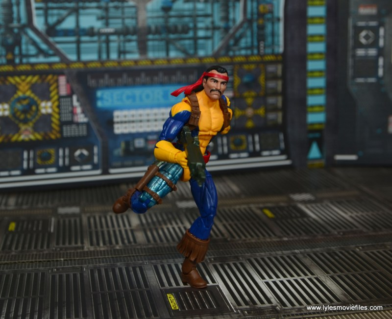 Marvel Legends Forge figure review - on the run
