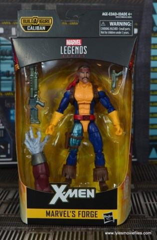 Marvel Legends Forge figure review - package front