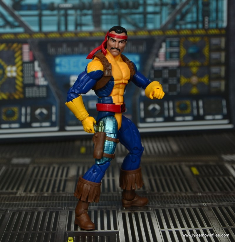 Marvel Legends Forge figure review - reaching for pistol
