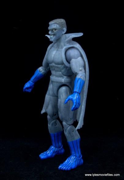 Marvel Legends Grey Gargoyle figure review - left side