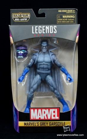 Marvel Legends Grey Gargoyle figure review - package front