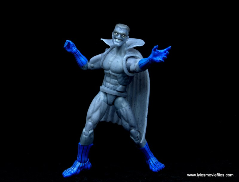Marvel Legends Grey Gargoyle figure review - wide shot
