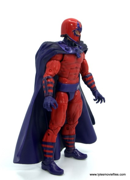 Marvel Legends Magneto, Quicksilver and Scarlet Witch figure review - magneto right side