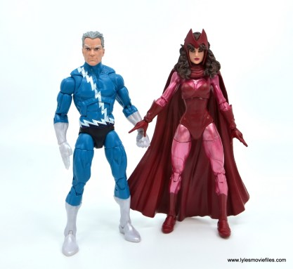 Marvel Legends Magneto, Quicksilver and Scarlet Witch figure review - updated quicksilver and scarlet witch